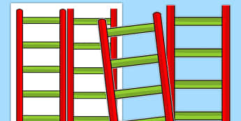 Blank Reading Ladder - blank, reading ladder, reading, ladder, read, targets
