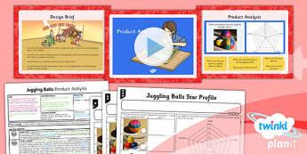 PlanIt DT LKS2 Juggling Balls Lesson 1 Product Analysis Pack