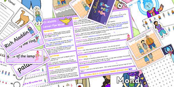 Aladdin KS1 Lesson Plan Ideas and Resource Pack - lesson plan