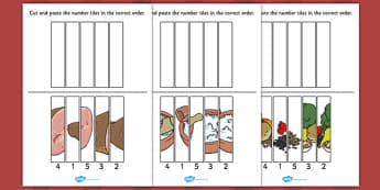 Stone Soup Number Sequencing Puzzle - stone soup, number, puzzle