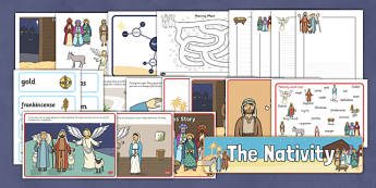 The Nativity Resource Pack - nativity, christmas, resource pack, pack