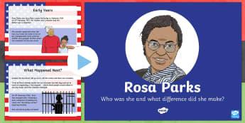 KS2 Rosa Parks PowerPoint