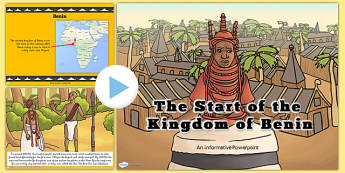 History of Benin Information PowerPoint - KS2, discussion prompt