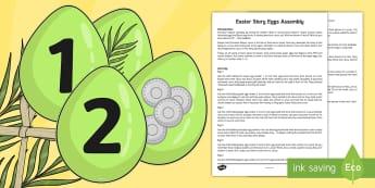 Easter Story Assembly - easter, story, assembly, easter story