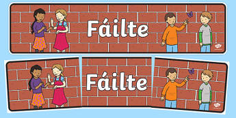 Fáilte Display Banner