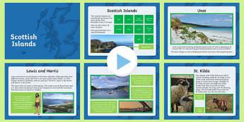 Scottish Islands PowerPoint