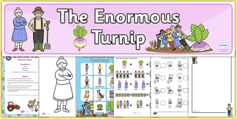 Childminder The Enormous Turnip EYFS Resource Pack