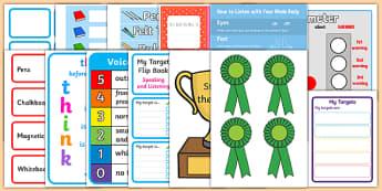 Probationer Classroom Set Up Pack Second Level - probationers, class set up, NQT, September, August, display, organisation
