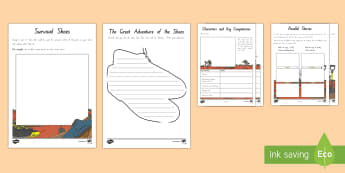 Years 5 and 6 Chapter Chat Chapters 39 to 44  Activity Pack to Support Teaching on Holes - New Zealand Chapter Chat, Chapter Chat NZ, Chapter Chat