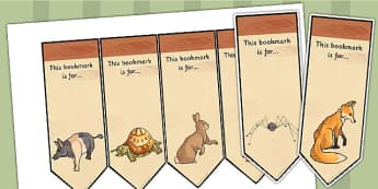 Why Anansi Has Eight Skinny Legs Story Editable Bookmarks