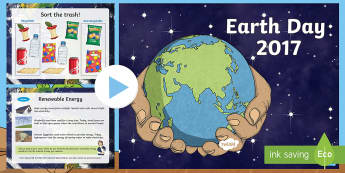 Earth Day Informational PowerPoint - Earth Day, Earth Day 2017, Earth Day discussion, Earth Day research, Earth Day powerpoint, Earth Day