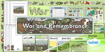PlanIt - History KS1 - War and Remembrance Unit Additional Resources