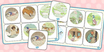 The Tale of Jemima Puddle-Duck Matching Mat - jemima puddle-duck