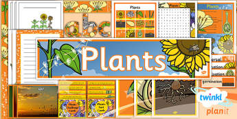 PlanIt - Science Year 3 - Plants Unit Additional Resources - planit, science