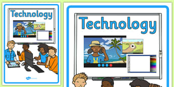 Australian Curriculum Technology Book Cover - topic