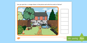 Phase 5 o e Find the Words Scene Activity - phonics, letters and sounds, phase 5, o-e sound, magnifier, magnifying glass, find, activity, group,