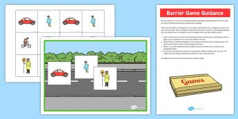 Transport Barrier Game - games, activities, activity, vehicles
