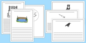 Is That a Shark? Writing Frames - shark in the park, Nick Sharratt, storybook