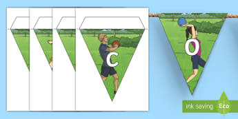 Welcome to Our Sports Day Display Bunting - Sports Day, sport's day, sports day bunting, cfe events, welcome to our Sport's Day Sign, welcome