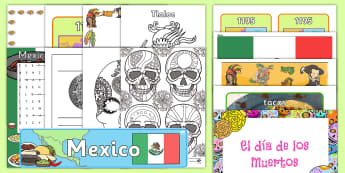 Mexico Celebration Resource Pack - International, staff, residents, celebration, culture, the world, diversity, ideas, care homes, elde