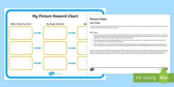 Picture Chart Behaviour Chart Parent and Carer Information Sheet - routine, organisation, help, advice, support, behaviour, reward