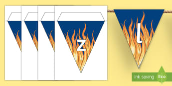Sizzling Starts Display Bunting - Sizzing Starts, Bunting, Narrative, Persuasive Texts, display, back to school, Australia