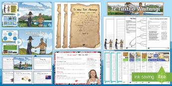 Waitangi Day Resource Pack - Waitangi Day, Treaty of Waitangi, cooking, treaty treats, treaty games
