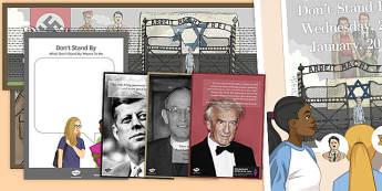 Holocaust Memorial Display Pack - holocaust, Holocaust Memorial Day, PSHE, suffering, Religious Studies, History, Second World War