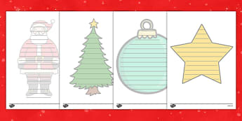 Christmas Shape Poetry - Christmas, xmas, Happy Christmas, tree, advent, shape, poetry, poem, rhyme, nativity, santa, father christmas, Jesus, tree, stocking, present, activity, cracker, angel, snowman, advent