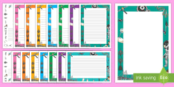 Engineering Page Border Pack - engineering, engineer, engineering week, page border, paper, D&T, design, technology