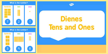 Place Value Dienes Activity PowerPoint Hundreds Tens and Ones