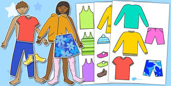 Colour Dress Up Dolls - dress up, dolls, colours, dress up games