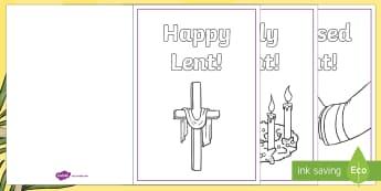 ROI Lent Greeting Cards - ROI, Activity, Lent, Holy Week, Lent Card, Greeting Card, Irish