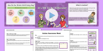 World Autism Awareness Week Whole School Assembly Script and PowerPoint Pack - KS1&KS2 World Autism Awareness Day (2nd April 2017), assembly, KS1, KS2