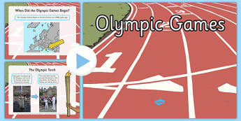 EYFS All About the Olympics PowerPoint - the olympics, rio olympics, 2016 olympics, rio 2016, olympics games, information, powerpoint