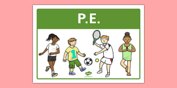 PE Classroom Area Sign - gaeilge, roi, irish, area, sign, classroom, display, pe