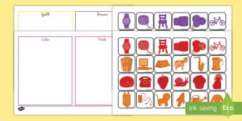 Farben sortieren Aktivität - Farben sortieren Aktivität, Farben sortieren, Farben zuordnen, Farbbilder sortieren, Farben Aktivit