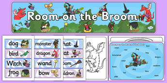 Story Sack to Support Teaching on Room on the Broom  - room on the broom, stories, story