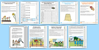 KS1 Mystery Maths Games Resource Pack - maths mystery, mysteries, end of year activities, problems, problem solving,