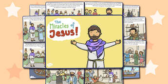 The Miracles of Jesus Bible Stories - christianity, religion