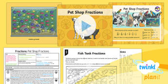 PlanIt Y4 Fractions Problem Solving (3) Lesson Pack - fractions, fractions of amounts, fractions of numbers, fractions of quantities, investigation, probl