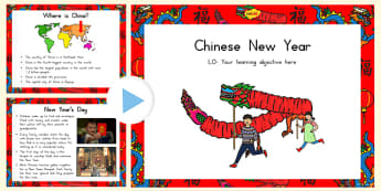 Chinese New Year Information PowerPoint - australia, information