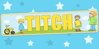 Display Banner to Support Teaching on Titch - stories, story books, header, display