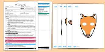 Listening Game to Support Teaching on The Gruffalo EYFS Adult Input Plan and Resource Pack - EYFS, Early Years planning, adult led, Julia Donaldson, role play, C&L