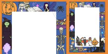 Halloween Parade Poster - halloween, parade, poster, display, template