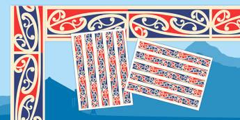 Waitangi Day Display Borders - new zealand, nz, waitangi day, treaty, display borders