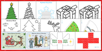 Childminder Christmas Activity Pack - childminder, christmas