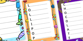 Acrostic Poems to Support Teaching on Charlie and the Chocolate Factory - charlie and the chocolate factory, acrostic poem, poems, poetry, poem templates, acrostic poem writing