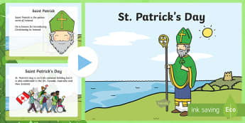 St Patricks Day PowerPoint - st patricks day, powerpoint, day