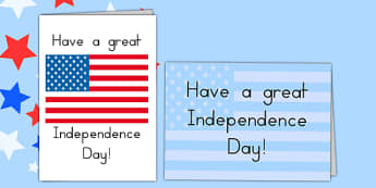 Independence Day Greetings Card - independence day, greetings